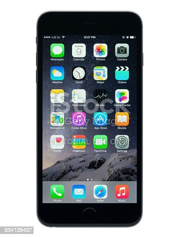 istock Apple iPhone 6 Plus 5.5-inch display 534139437