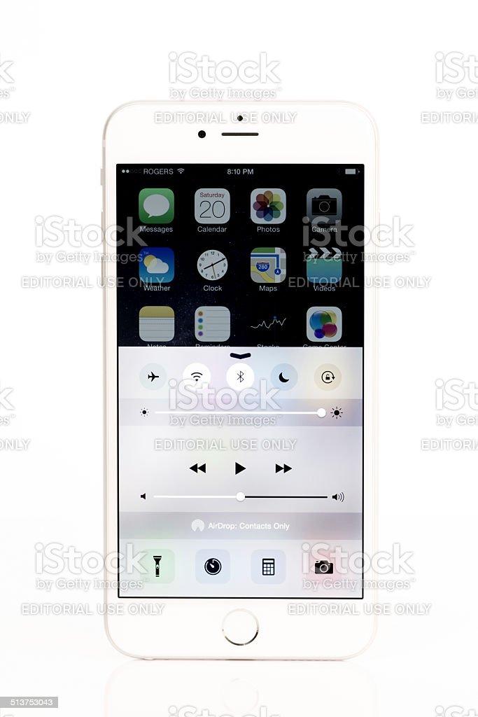 Apple Iphone 6 Plus De Votre Ecran Isole Sur Fond Blanc Photos Et