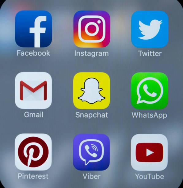 Apple iphone 7 with icons of social media facebook instagram twitter picture id879016238?b=1&k=6&m=879016238&s=612x612&w=0&h=nza aj7u5m7nkcht8wcjeteo0wblaku3ekiq5movsr0=