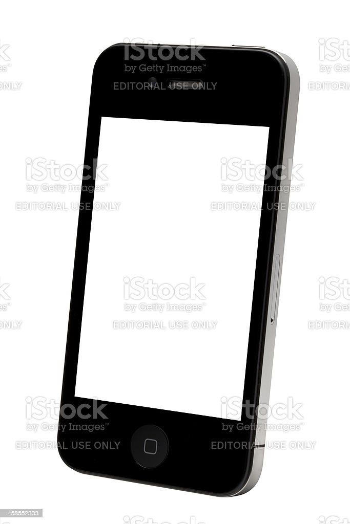 Apple iPhone royalty-free stock photo