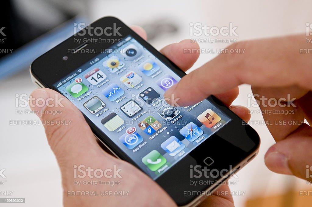 Apple iPhone stock photo
