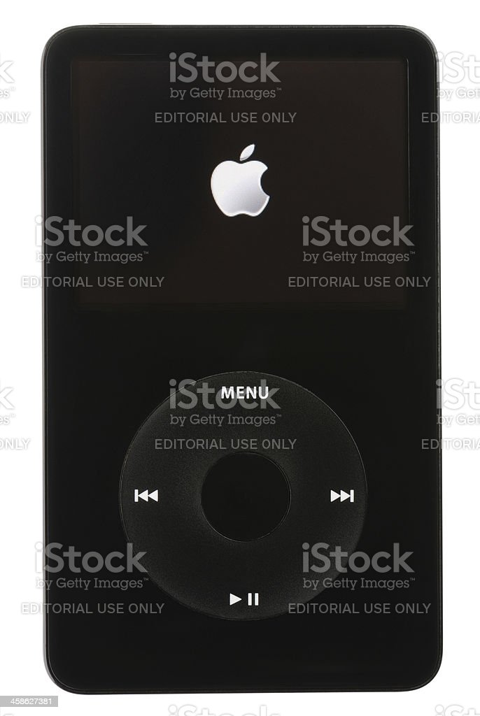 Apple iPod royalty-free stock photo