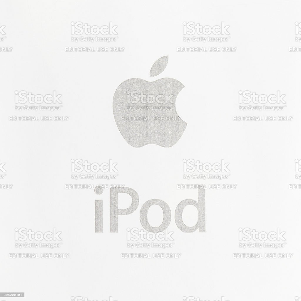 Apple iPod stock photo