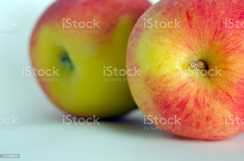 Apple isolated on white background stock photo