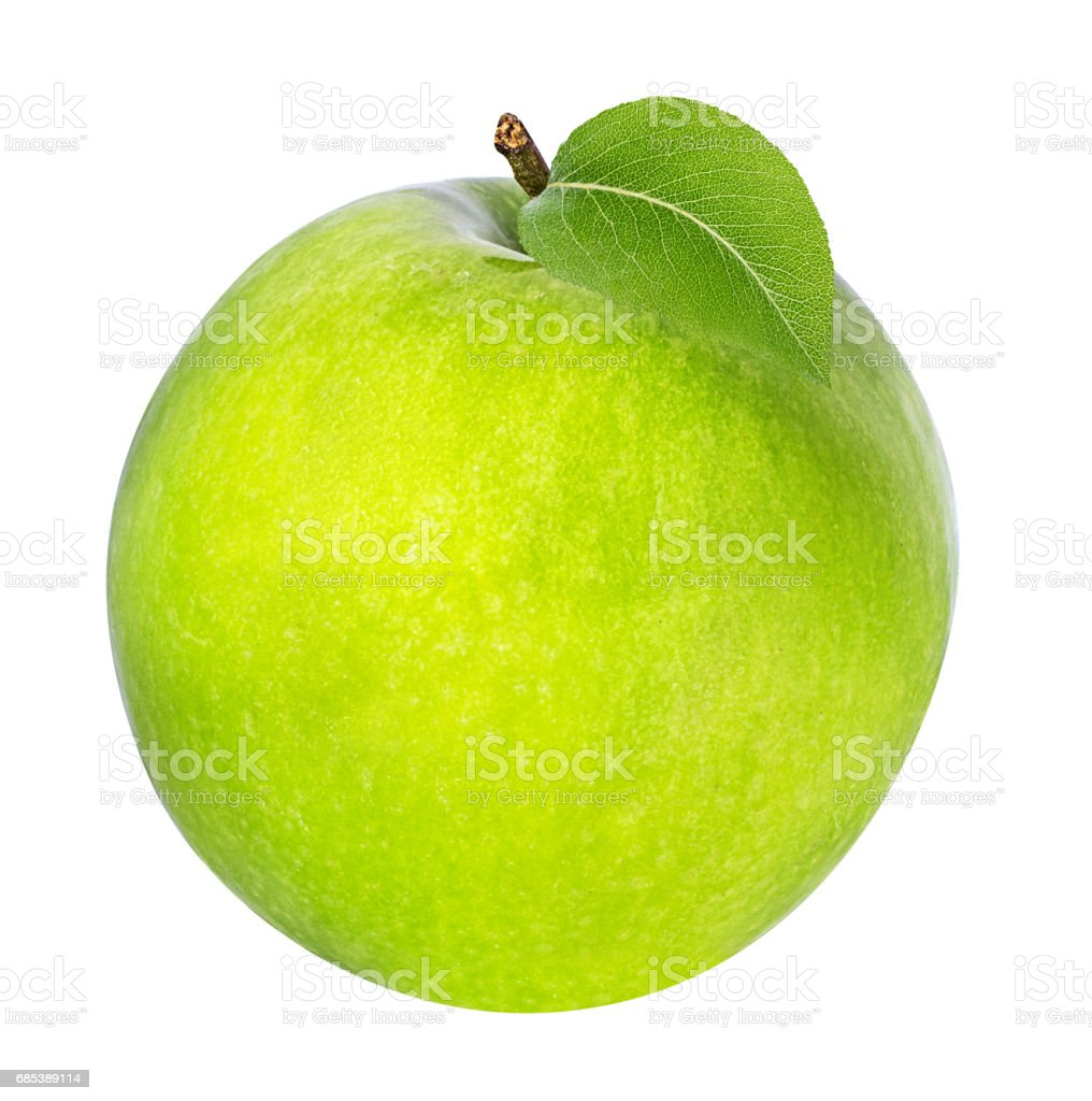 apple isolated on white foto de stock royalty-free