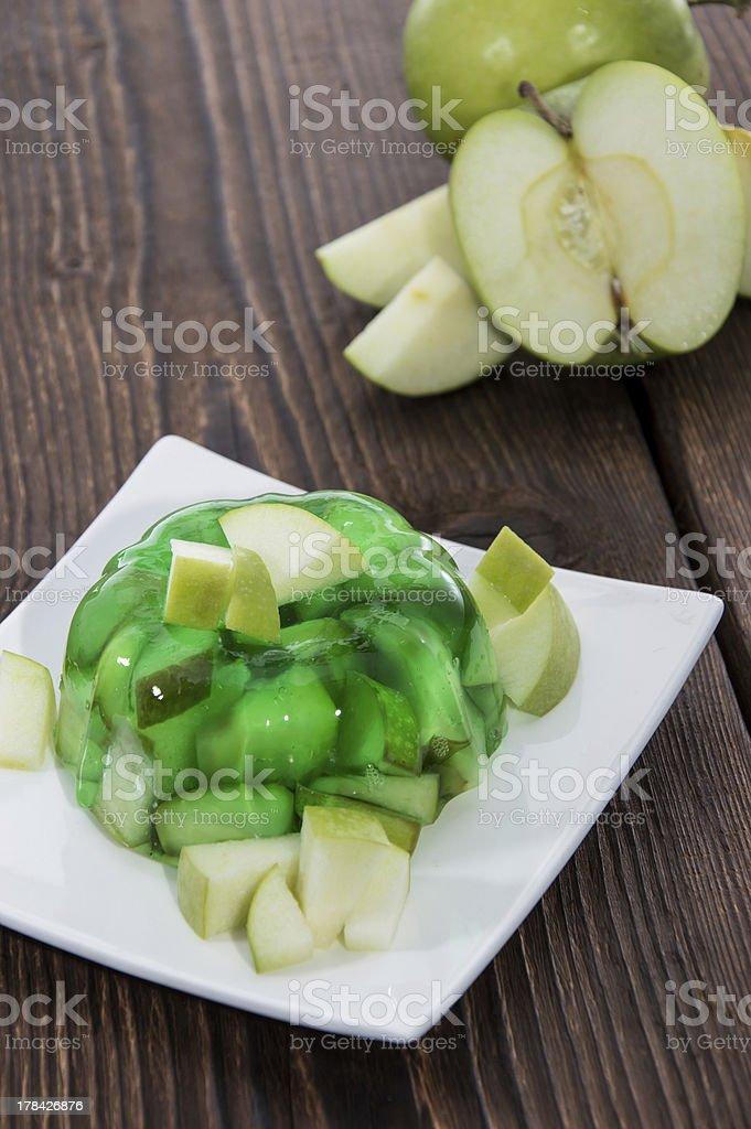 Apple Jello Stock Photo More Pictures Of Apple Fruit Istock
