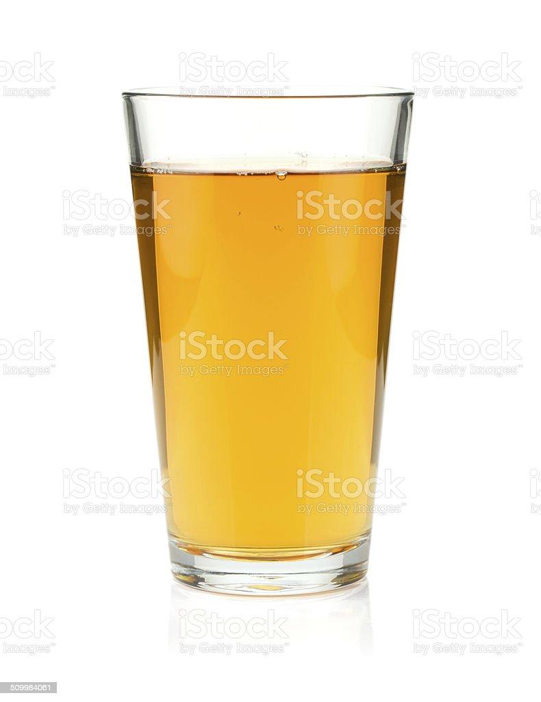 Apfelsaft in einem Glas – Foto