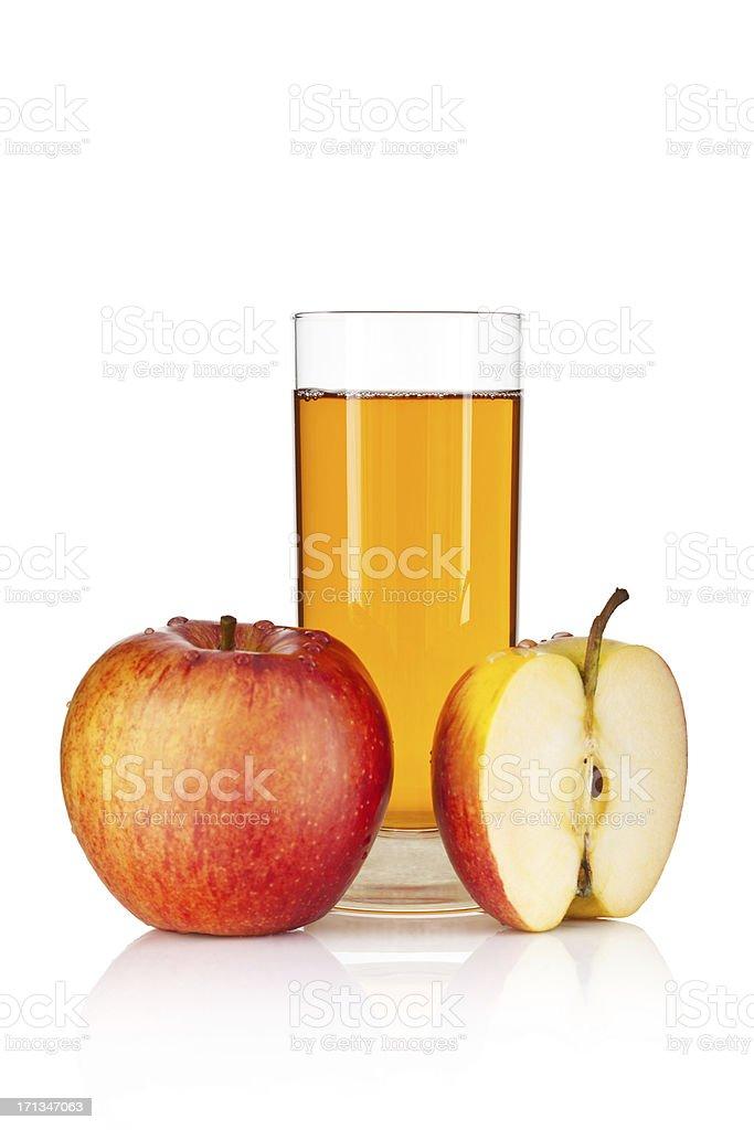 Apfelsaft Isoliert – Foto