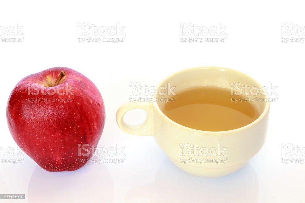 Apple juice royalty-free 스톡 사진