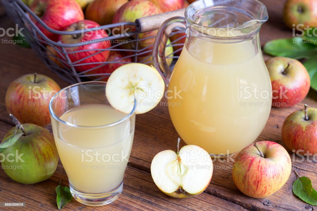 Apple Juice stock photo