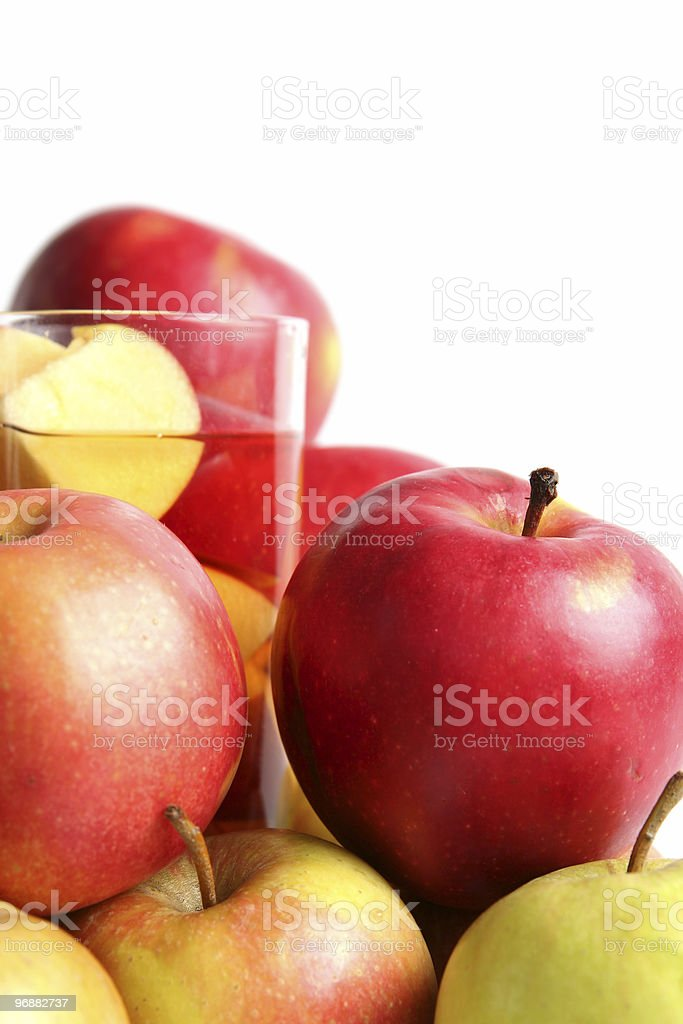 Apple juice Lizenzfreies stock-foto