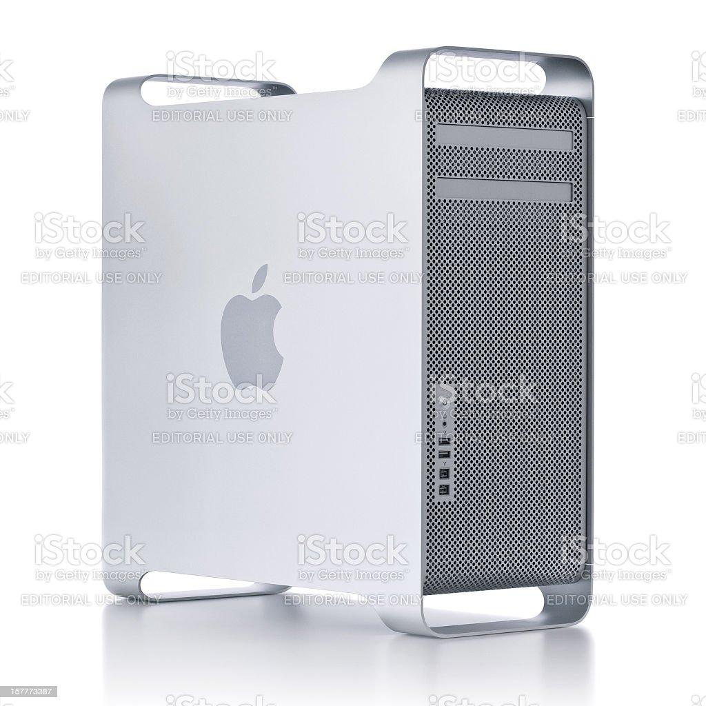 apple mac pro computer royalty-free stock photo
