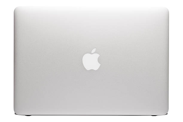 Apple MacBook Air laptop stock photo