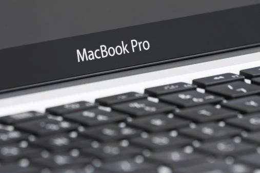 Apple MacBook Pro close up