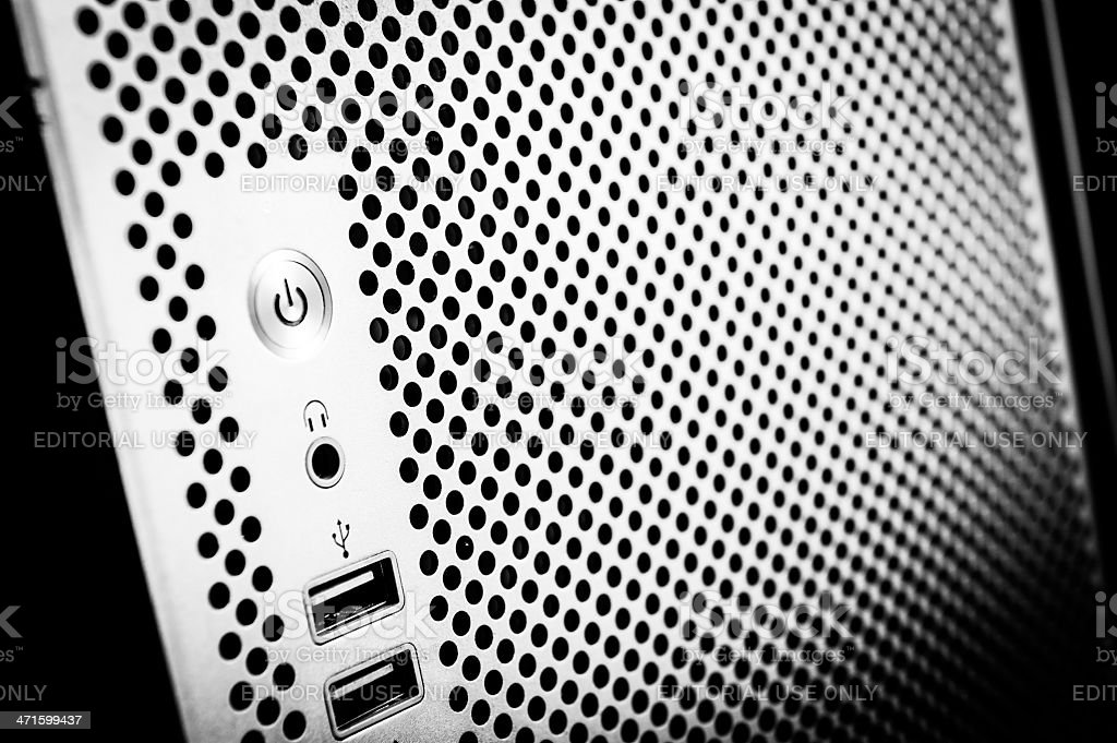 Apple Macintosh Modern Mac Pro Grey Computer stock photo