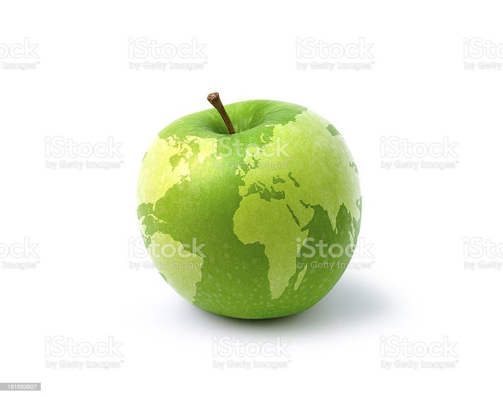 apple map stock photo