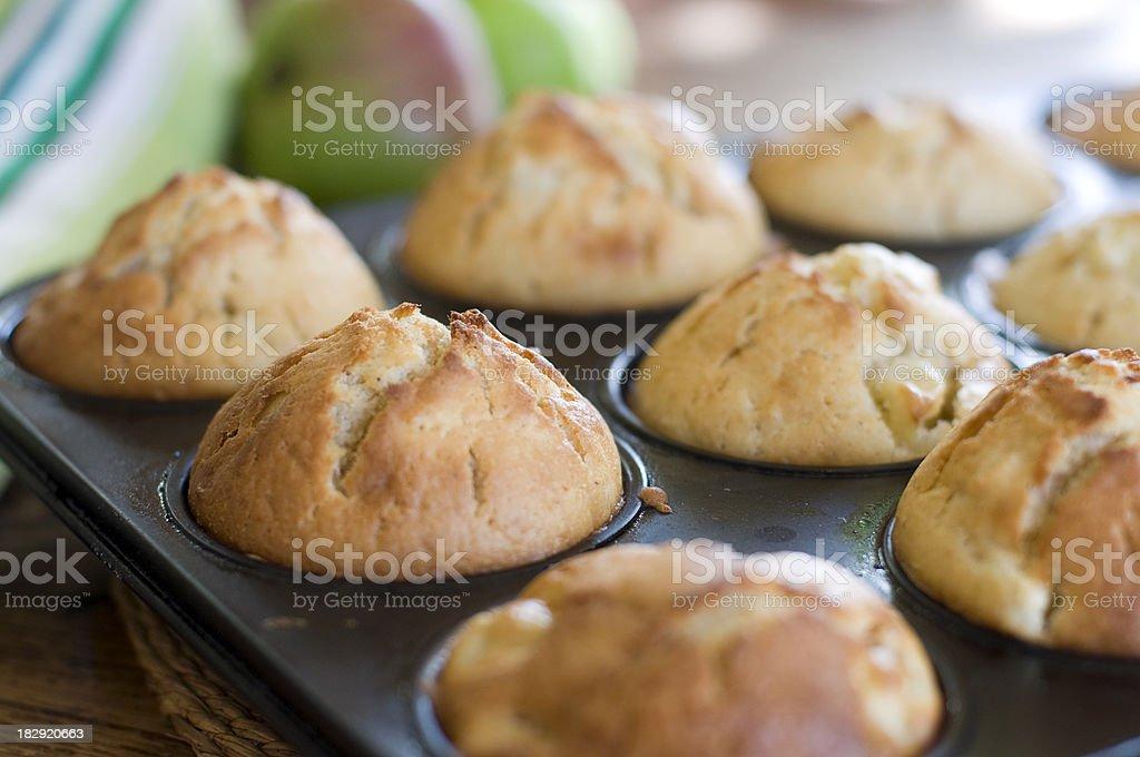 Apple Muffins stock photo