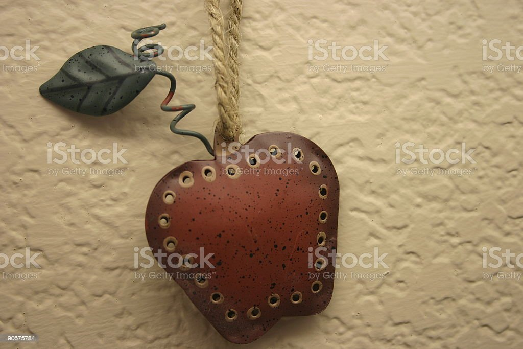 Tin Apple royalty-free stock photo