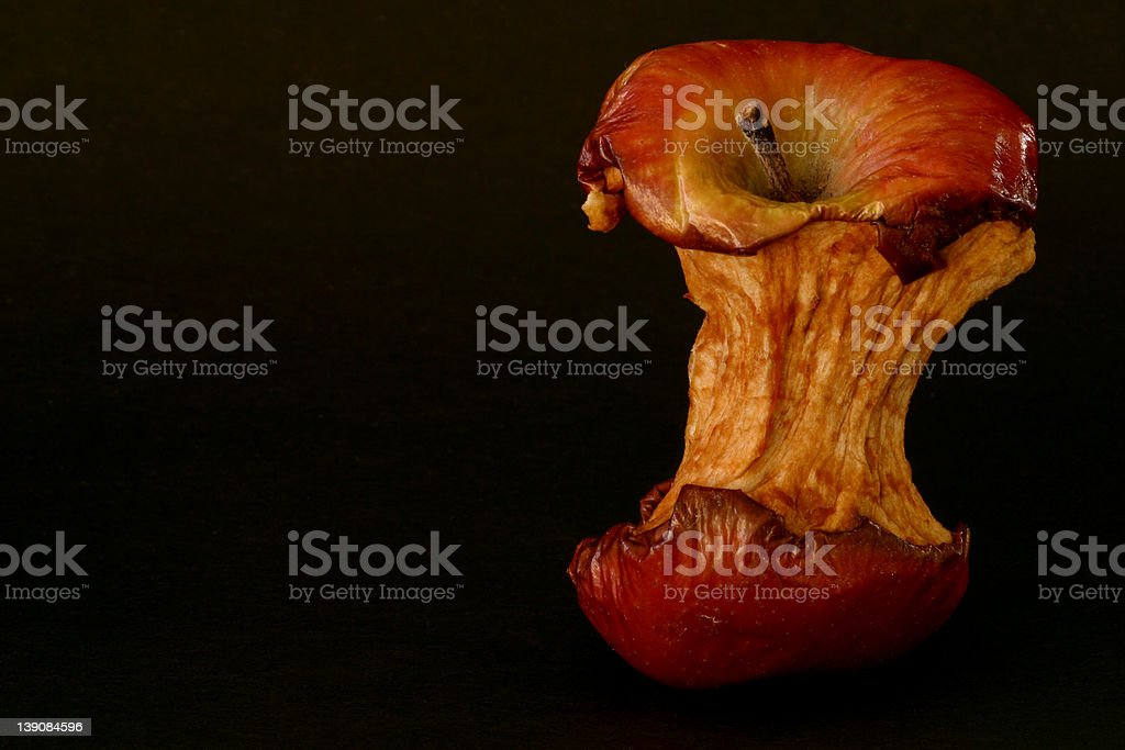 Apple - Old 1 royalty-free stock photo