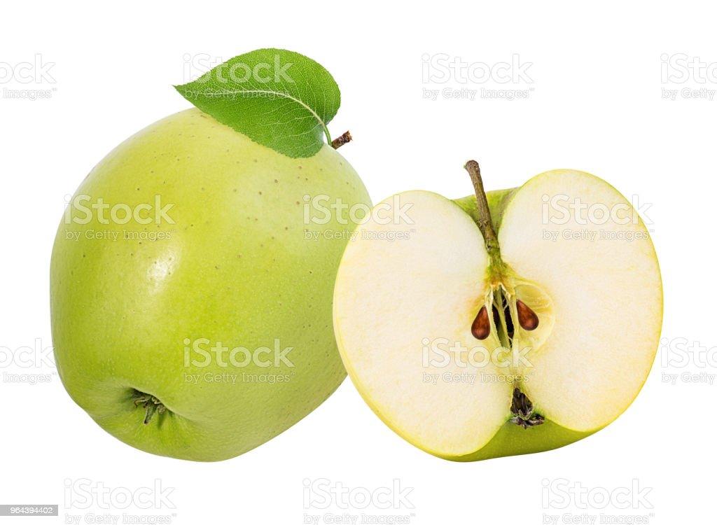 Apple em branco - Foto de stock de Agricultura royalty-free