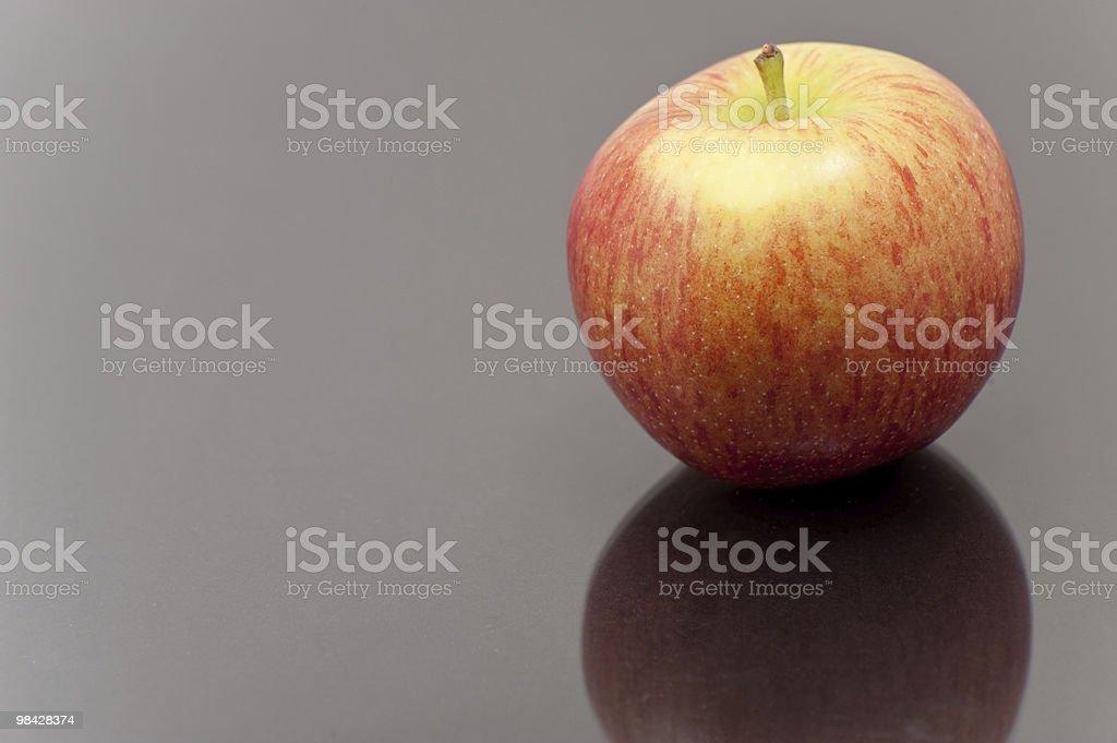 사과나무 on 사색적 표면화시킵니다 royalty-free 스톡 사진