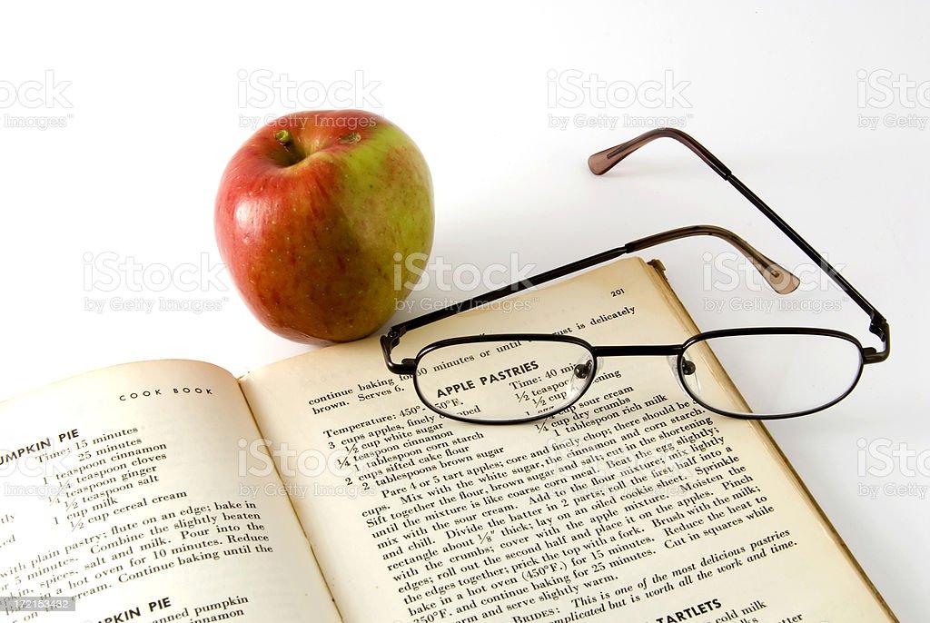 apple pastries royalty-free stock photo