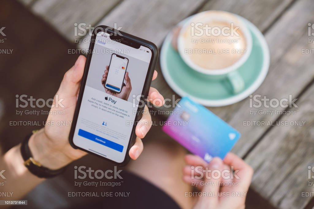 Apple Pay stock photo