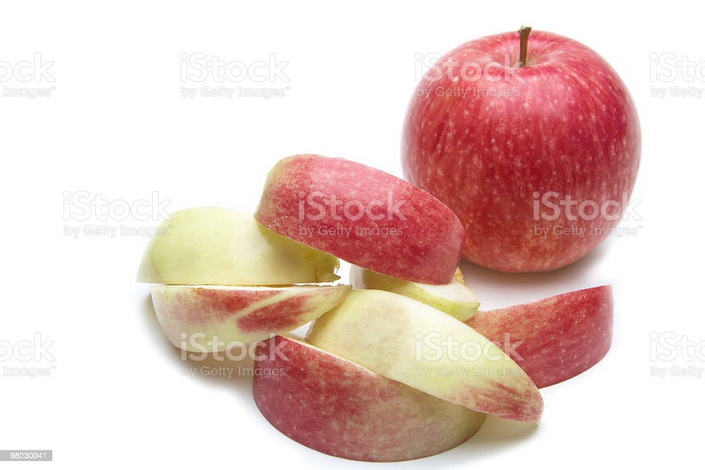 Apple. royalty-free stock photo