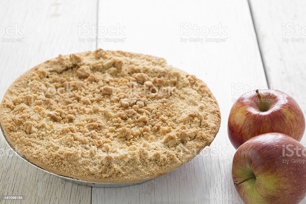 Apple Pie And Apples stock photo