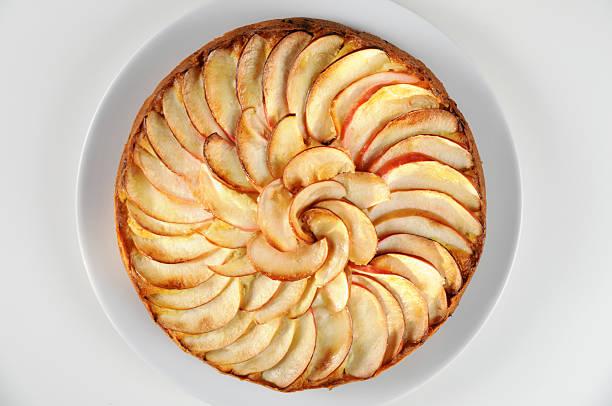 apple pie - crostata stock-fotos und bilder