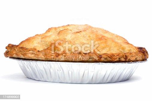 Juicy apple pie