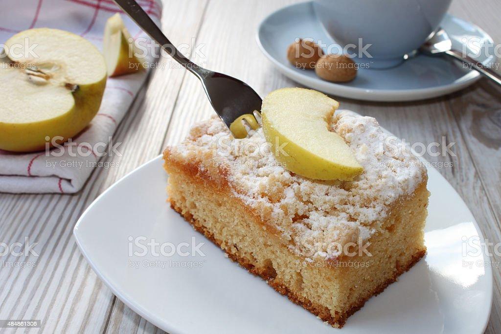 Torta de maçã - foto de acervo