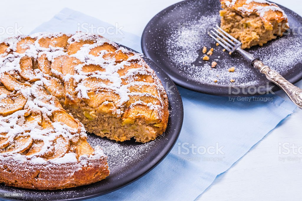 Apple pie. stock photo