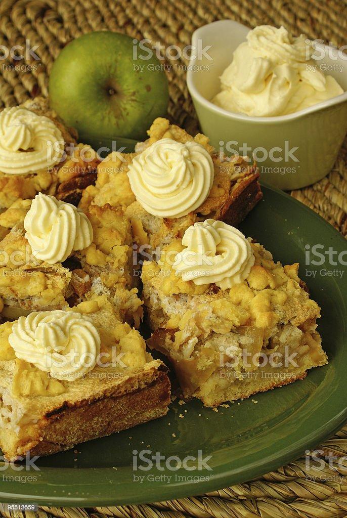 Apple pie royalty-free stock photo