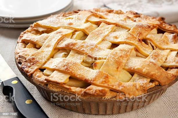 Apple Pie Stock Photo - Download Image Now