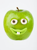 Apple portrait