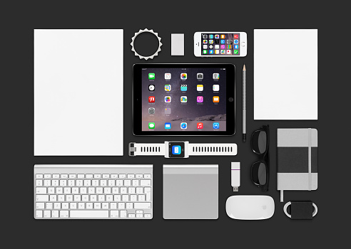 Apple products mockup
