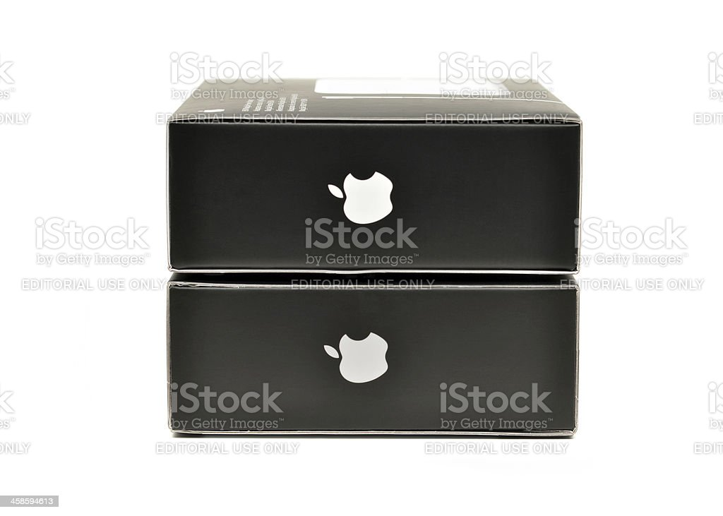 Apple Products royalty-free stock photo