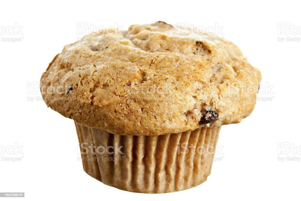 Apple Raisin Muffin stock photo