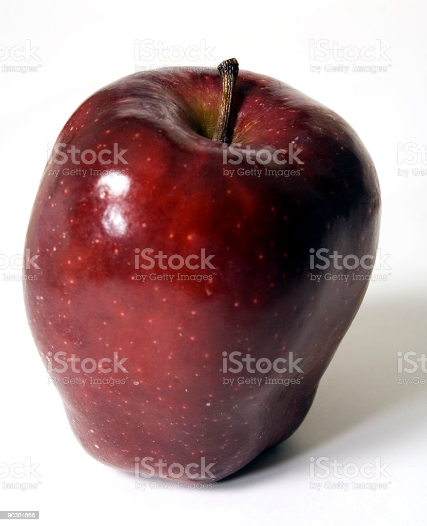 Apple: Red Delicious royalty-free stock photo