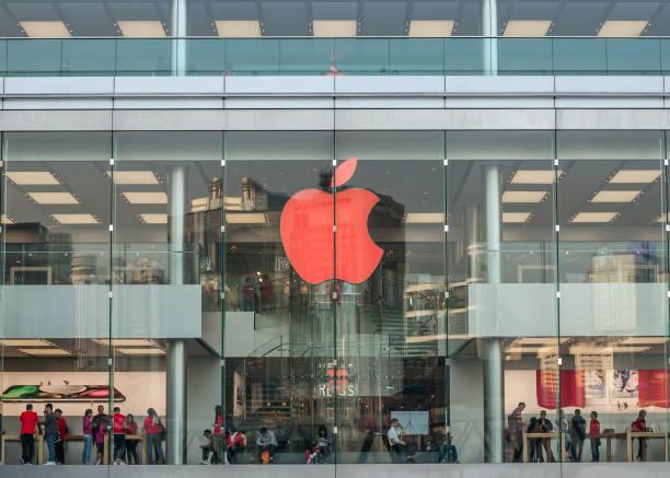 Apple retail store stock photo