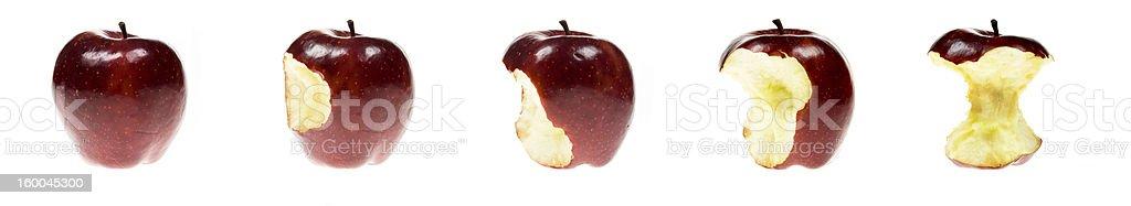 Apple series stock photo