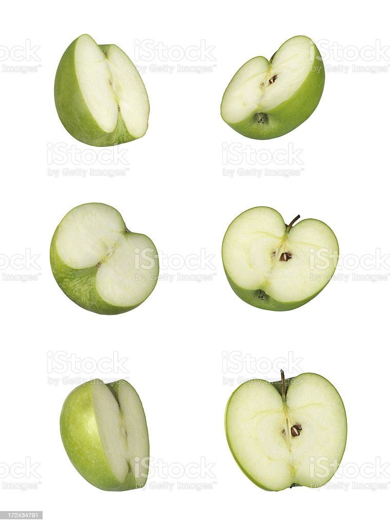 Apple Slices (Click for more) royalty-free stock photo