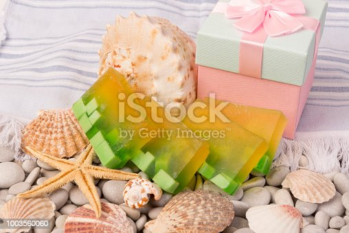 Hand made soap. Turkish traditional bath soap.