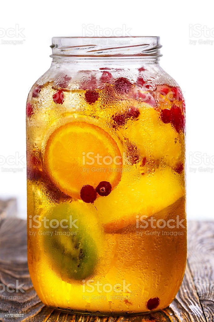Apple spritzer stock photo