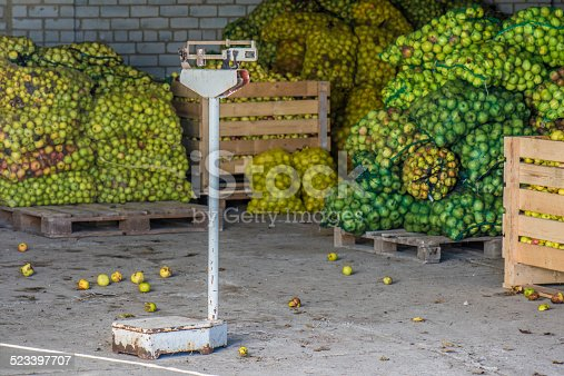 Apple storage and old scales