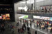 istock Apple Store Chunxilu in Chengdu,China 518889080