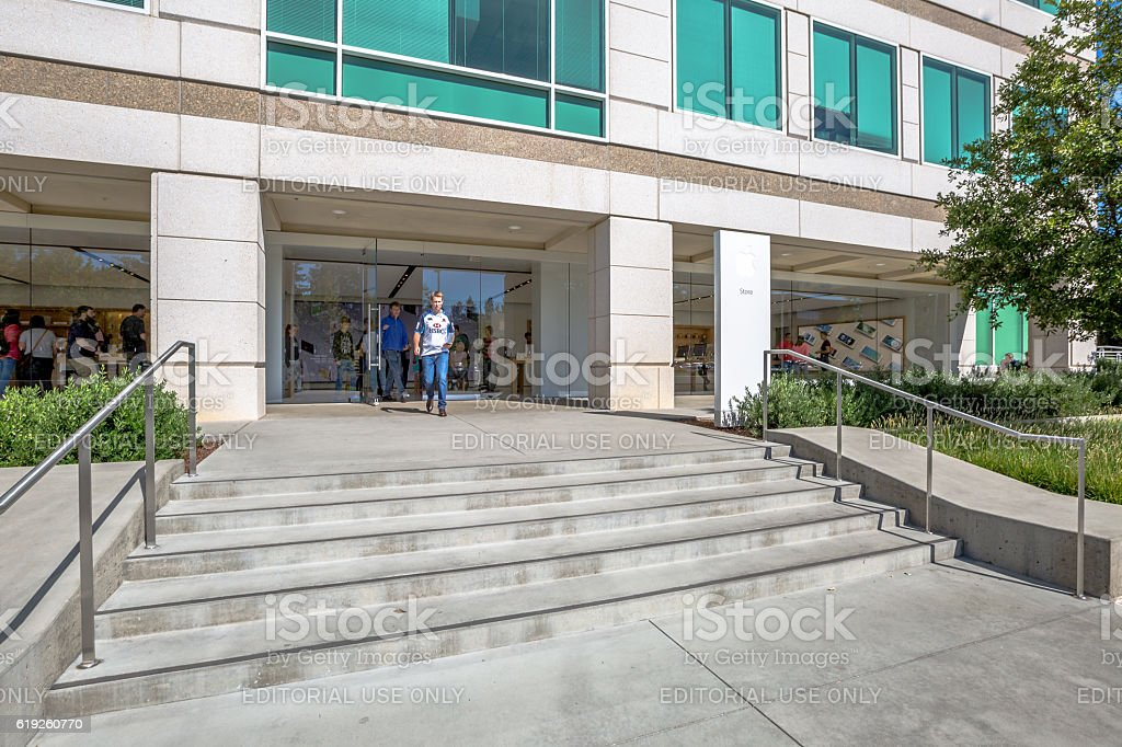 Apple Store HQ stock photo