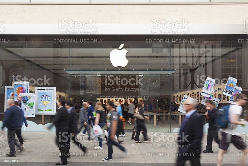 Apple Store in Adelaide royalty-free stock photo