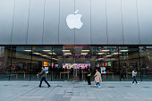 istock Apple store in Chengdu, China 1136559178